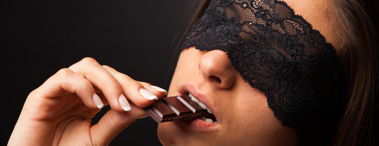 Giochi sexy col cioccolato, 3 idee