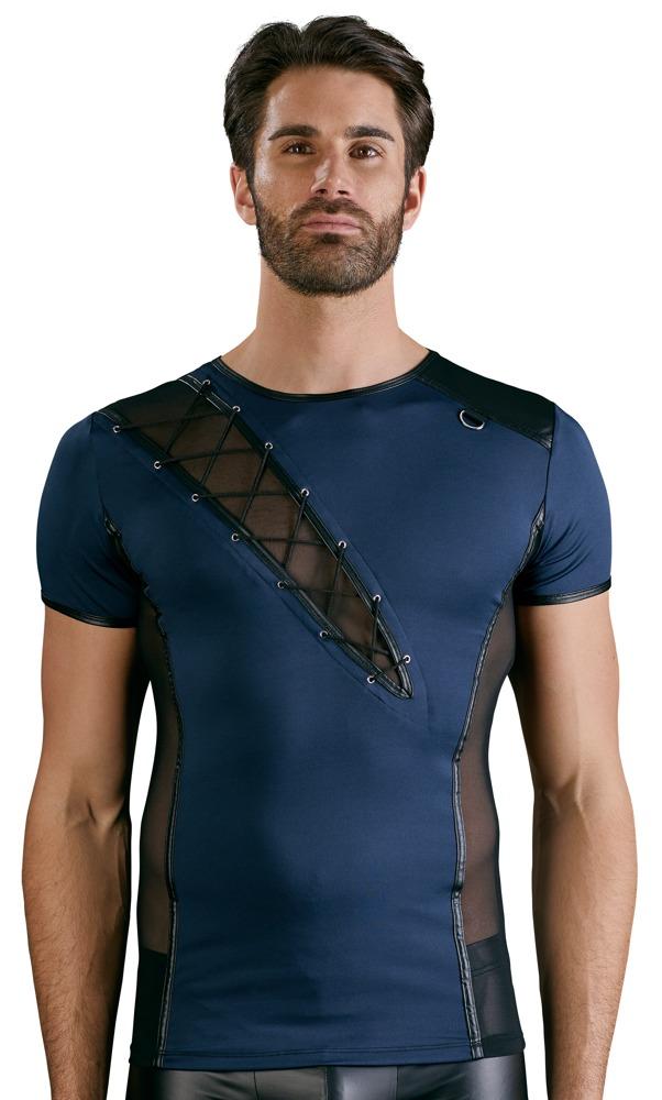 Maglietta blu spacco – Nek