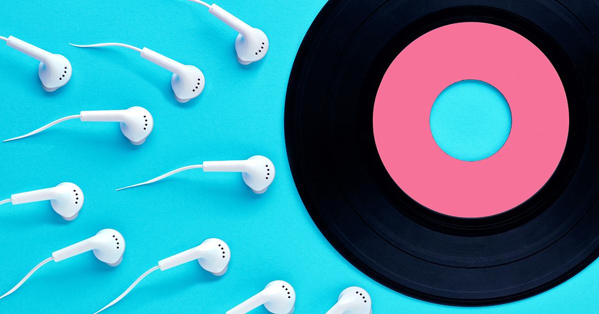 Una playlist di canzoni e sex toys