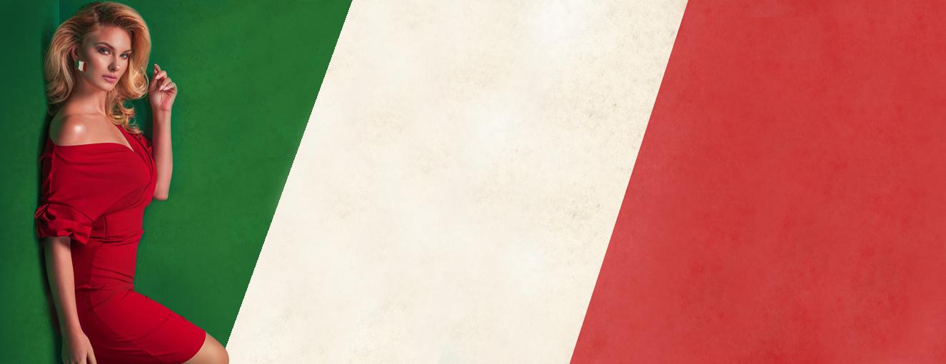 Verde, bianco e rosso: il nostro sexy tricolore