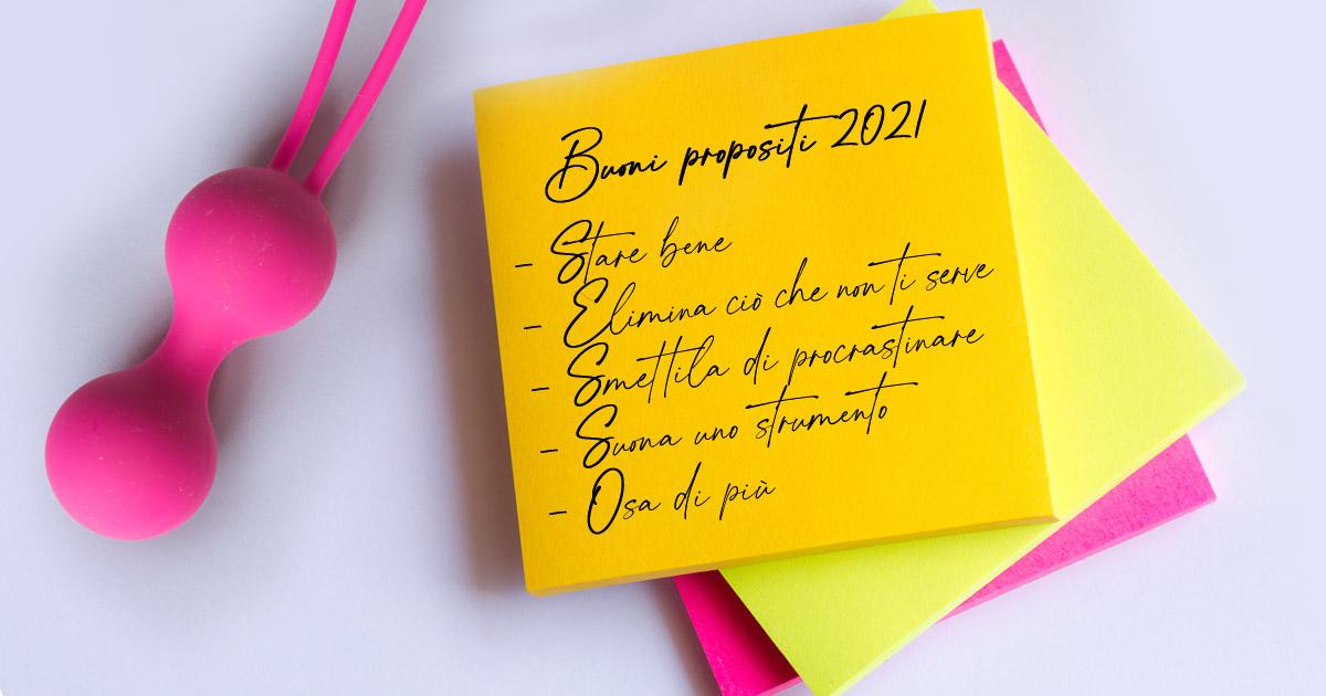 Propositi per il nuovo anno? Farlo di più